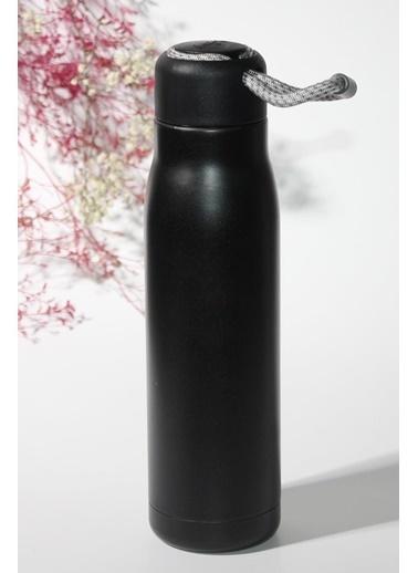 Catit Siyah Çift Katmanlı Paslanmaz Çelik Termos (550Ml) Renkli